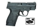 Smith and Wesson M&P Shield w/Night Sights 9mm UPC: 022188867435